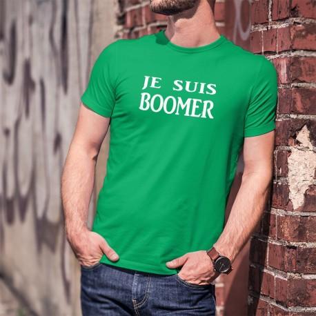 Je suis BOOMER ★ T-Shirt coton pour homme de la génération baby boom et qui sera bientôt à la retraite