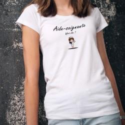 Aide-soignante, what else ? ❤ T-Shirt donna
