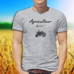 Uomo T-Shirt - Agriculteur, What else ?