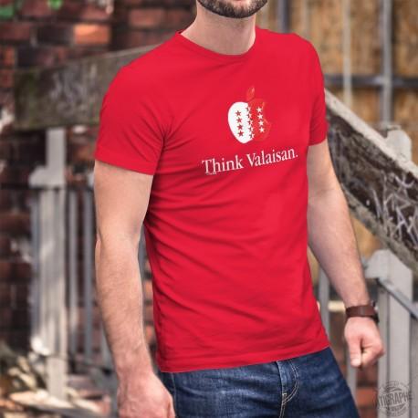 Think Valaisan ★ Men's Cotton T-Shirt