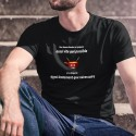 Une fondue ✚ Aussi lentement que nécessaire ✚ T-Shirt coton homme
