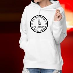 Kapuzen-Sweatshirt ★ Aussi vite que possible ✿ Aussi lentement que nécessaire ✿