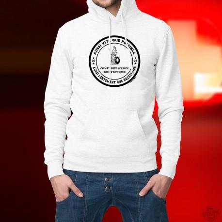 Kapuzen-Sweatshirt ★ Aussi vite que possible ★ Aussi lentement que nécessaire ★