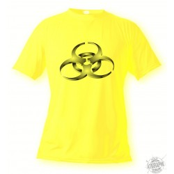 Dona o Uomo T-Shirt - BioHazard, Safety Yellow