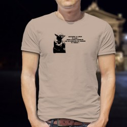 Funny T-Shirt - Alain, maitriser le virus tu dois... ★ Yoda ★