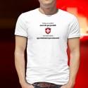 En Suisse on va au bistrot aussi vite que possible ✚ T-Shirt homme