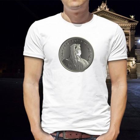 Guglielmo Tell maschera chirurgica ✚ Helvetia ✚ Uomo T-Shirt