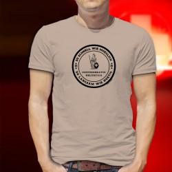 So schnell wie moeglich, so langsam wie noetig ✚ Schweizerischen Eidgenossenschaft ✚ Herren T-Shirt, Alain Berset