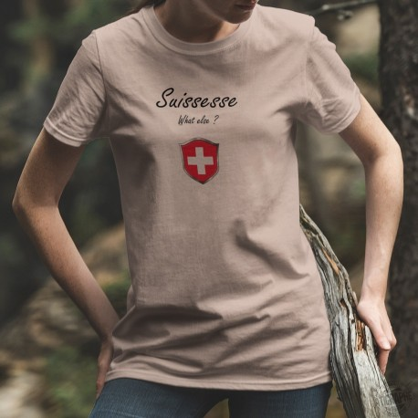 Suissesse, What else ? ✚ Frauen T-Shirt