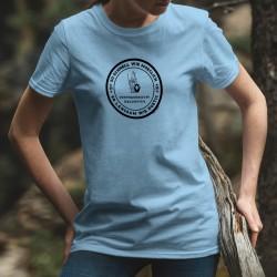 So schnell wie moeglich, so langsam wie noetig ✚ Frauen T-Shirt