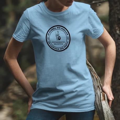 So schnell wie moeglich ✚ Helvetic Confederation ✚ Women's T-Shirt