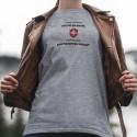 En Suisse on va au bistrot aussi vite que possible ✚ T-Shirt décontracté dame