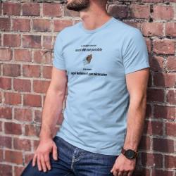 T-Shirt - Je déballe le chocolat aussi vite que possible ✚