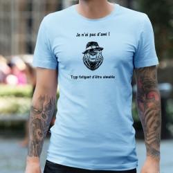 J'ai pas d'ami ! ✪ trop fatigant d'être aimable ✪  Uomo T-Shirt