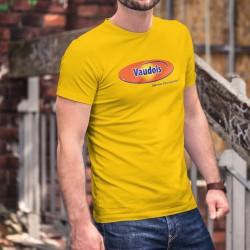 Vaudois, bien mieux. Et plus longtemps ! ★ T-Shirt coton homme, Ovo, pâte à tartiner au malt et chocolat