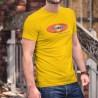 Uomo cotone T-Shirt - Vaudois, bien mieux. Et plus longtemps
