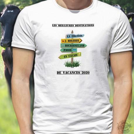 Les meilleures destinations Suisse de vacances 2020 ✚ Men's T-Shirt