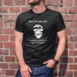 Baumwolle T-Shirt -Que ce soit bien clair ✪ des défauts, j'en ai d'autres ✪