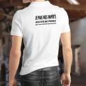 Polo Shirt - Je paie mes IMPÔTS ✚ Aussi vite que possible ✚