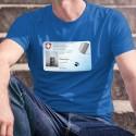Carte d'identité ✪ Gordon ALF Shumway ✪ T-Shirt coton homme
