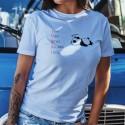 Lundi inutile ★ T-Shirt décontracté dame