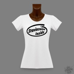 Women's slim T-Shirt - Staviacoise Inside