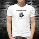 Si tu pouvais lire dans mes pensées ✪ Gorille ✪ Men's T-Shirt