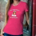 Être infirmière, ça n'a pas de prix ✿ POP ART ✿ T-Shirt coton dame