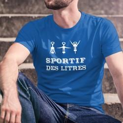 Men's cotton T-Shirt - SPORTIF des litres ★
