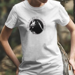 Women's T-Shirt - L'amour d'un chat ❤