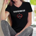 The only one human color is ❤ Love ❤ Women's cotton T-Shirt
