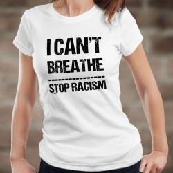 I can't Breathe ✪ STOP RACISM ✪ T-Shirt donna, Donazione alla Fondazione contro il razzismo in ricordo di Georges Floyd