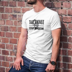 TAKE A KNEE ✪ STOP RACISM ✪ Men's T-Shirt against Racism