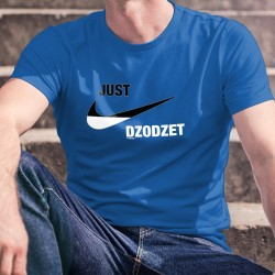 Just dzodzet ★ Just do it ★ T-shirt in cotone da uomo