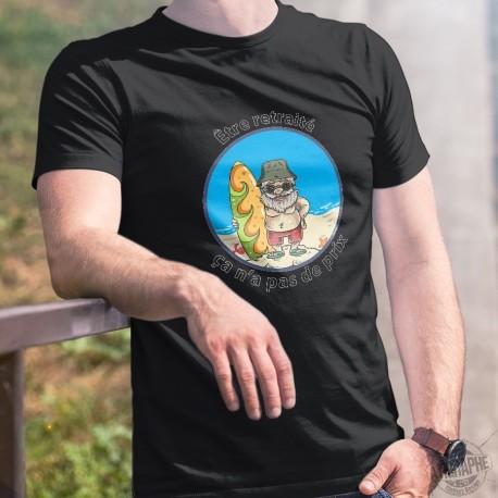 Men's cotton T-Shirt - Etre retraité ★ ça n'a pas de prix ! ★