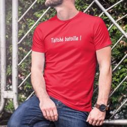 Uomo Moda cotone T-Shirt - Taitché batoille ! ★