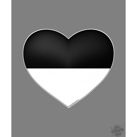 Car Sticker - Fribourg Heart