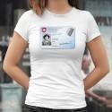 Carte d'identité ✪ Calamity Jane ✪ T-Shirt dame