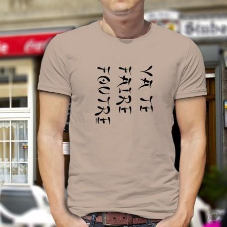 Va te faire foutre ✪ écriture japonaise ✪ Men's T-Shirt