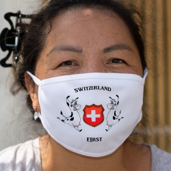 Switzerland First ✚ Cotton mask