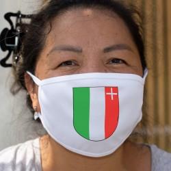 Écusson neuchâtelois ★ Masque de protection en tissu double couche, lavable