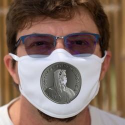 La Thune masquée ✚ Pièce de 5 Francs ✚ Masque de protection en tissu lavable