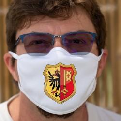 Genfer Wappenschild ★ Schutzmaske aus Stoff