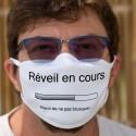 Réveil en cours ✪ merci de ne pas brusquer ✪ Cotton mask