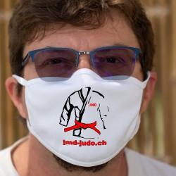 Anpassbare Doppelschicht-Stoffmaske für Unternehmen oder Firmen