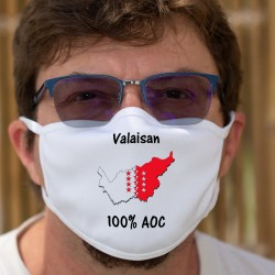 Valaisan AOC ✚ Maschera di cotone