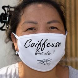 Coiffeuse, What else ? ☀ Paire de ciseaux ☀ Cotton mask