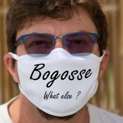 Bogosse, What else ? ★ Cotton mask