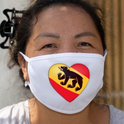 Bern Heart ★ Cotton mask