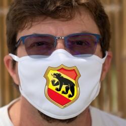 Berner Wappenschild ★ Schutzmaske aus Stoff, waschbar